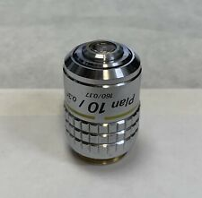 Nikon CFI Plan 10X/0.30 Microscope Objective160mm Optiphot Labophot ++