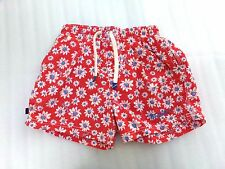 €59 Boys River Woods Swim Swimming Shorts Floral Designer Size 6 6A Preppy $$$