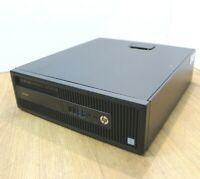 HP Pro 600 G2 Desktop Windows 10 Intel i3 6th Gen 3.7GHz 4GB 120GB SSD 1TB WiFi