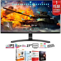 "LG 27UD68-P 27"" 16:9 4K UHD IPS FreeSync Monitor + Extended Warranty Pack"