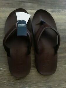 Abercrombie \u0026 Fitch Men's Leather Sandals