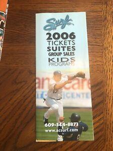 Brochures / Ticket Info. / Schedule   2006  Atlantic City Surf    (1)