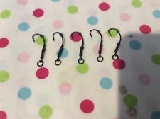 5x Ronnie Spinner rigs Teflon curv pro hooks size 4 barbless with rig ring