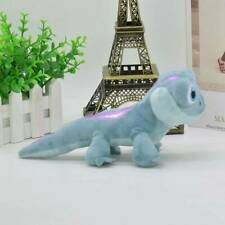 Frozen2 Bruni Blue Fire Lizard Soft Stuffed Plush Doll Toy Kids Birthday Fun