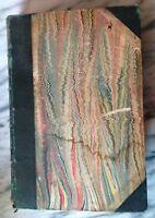 "1852 Daniel Webster Irish Potato Disease in ""Littell's Living Age"" Book Antique"
