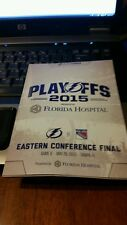 Tampa Bay Lightning VS New York Rangers Game 6 Program