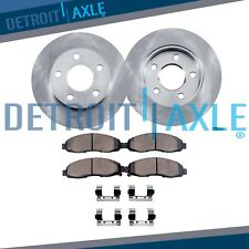 Front Brake Rotors & Ceramic Pads for 2012 2013 2014 2015 Honda Civic DX LX EX