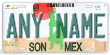 Sonora Mexico Any Name Number Novelty Auto Car License Plate C02