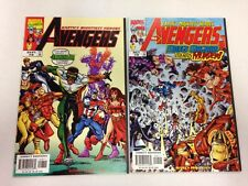 The Avengers #8 September 1998 9 10 11 12 #12 white variant 13 14 15 16a 16b 17