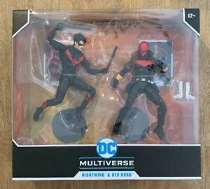 Mcfarlane DC Multiverse Nightwing & Red Hood NEW IN HAND TARGET EXCLUSIVE