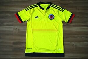 SIZE XS MENS COLOMBIA NATIONAL TEAM 2015/2016/2017 HOME JERSEY SHIRT ADIDAS