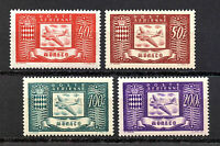 Monaco 1946 Douglas DC3 and Coats of Arms #C10 - C13 Mint NH Complete Set
