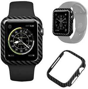 Real Carbon Fiber Apple Watch Case ( SERIES 1,2,3,4,5)