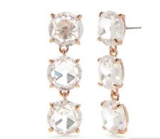 Kate Spade New York ROSE GOLD TONE Bright Ideals Triple Drop Earrings