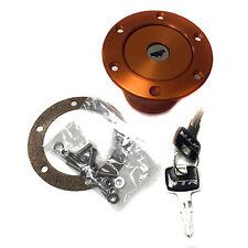 NEW...ATR Orange Locking Aluminium Fuel Filler Cap Kit Vented - Kit Car FUE0172