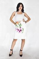 GIANFRANCO FERRE' Gonna Bianca Stile Casual In Cotone TG IT 46 - L Donna Woman