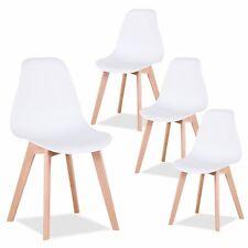 4er Set SALA Esszimmer Stühle Schalen Holz Wohnzimmer Küchen Stuhl Massiv