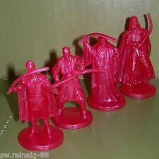 "Star Wars Mini HOLOGRAM Figures 4 CAKE TOPPERS Lot EMPEROR Darth Maul VADER 2"" R"