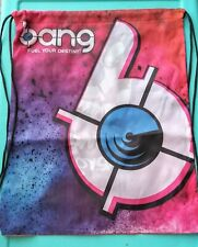"New Bang Energy Drink ""Fuel Your Destiny!"" Promo Drawstring Bag/Backpack"