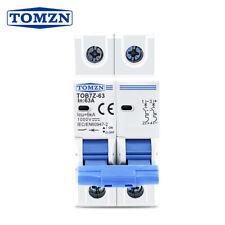 2P DC1000V Solar Circuit Breaker 3/6/10/16/20/25/32/40/50/63A MCB for PV System