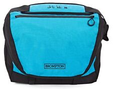 Blue Brompton C bag with frame and water proof cover *WORLDWIDE SHIPPING*