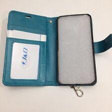 Lg V330 Cell Phone Wallet Wristlet Aqua Turquoise