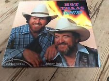 darrell mcCall/johnny bush-hot texas country-one step records 1986 l.p.