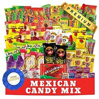Mexican Candy Mix (90 Count) Assortment of Spicy, Sour and Sweet Premium
