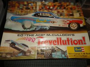 """1/16 Revell 1973 Original Ed """"the Ace"""" McCulloch Revellution - Sealed"""