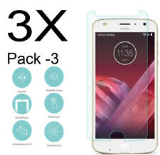 3x Tempered Glass Screen Protector For Motorola Moto Z2 Froce XT1789 (3-Pack)