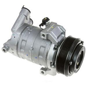 A/C Compressor Omega Environmental 20-20840 fits 2016 Nissan Titan XD 5.0L-V8