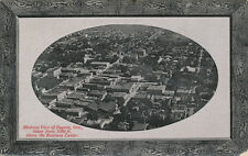 Eugene OR * Birds Eye View Business Center from 1500 Ft. * 1911 Post Card