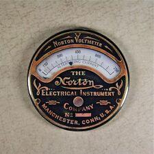 Printed Norton Voltmeter Gauge Magnet - Steampunk Mechanical Electrical Current