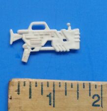 Action Figure White Toy Hand Gun Accessory #2