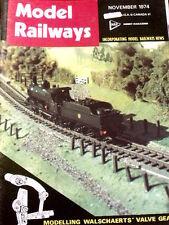Model Railways November 1974 - Midland Railway Carriage n°2234 -Tr.20