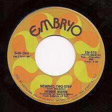 HERBIE MANN Memphis Two Step  Latin Soul Funk 45 on Embryo