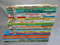 25 hardcover kids picture books DR SEUSS beginner readers lot the grinch