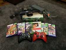 Xbox 360 20 Gb Hdd Console Kinect Bundle with Games & Controllers
