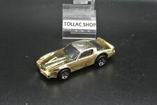 Voiture miniature Hot Wheels Mattel, vintage, Camaro Z28 Dragon Fire, 1982 métal