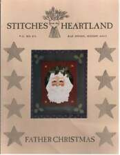 FATHER CHRISTMAS by Stitches From The Heartland
