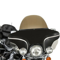 Smoke/Clear Plastic Windshield Windscreen fit For Harley Davidson Electra Glide