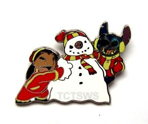 Disney Pin Lilo & Stitch from Starter Set Lilo and Stitch Building a Snowman Pin