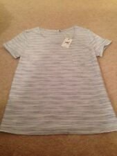 Striped Cotton Basic T-Shirts NEXT for Women
