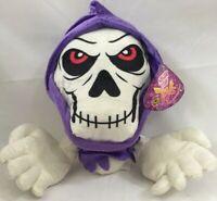 KellyToy Skeleton Ghost Plush 11x13in Sugar Loaf Stuffed Animal Soft Toy