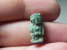 Zurqieh - Af1136- Ancient Egypt, Faience Amulet Of Ptiakos. 600 - 300 B.C