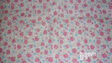 pink floral feed sack fabric original flour sack