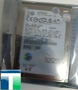"HITACHI 500GB SATA - II 2.5"" 9.5mm 5400RPM 3Gb/s HDD"