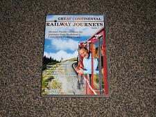 GREAT CONTINENTAL RAILWAY JOURNEYS : SERIES 1  PORTILLO DVD BOXSET (FREE UK P&P)