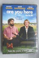 DVD - Comedy - Are You Here (Es-Tu La) - Owen Wilson - Zach Galifianakis