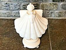 Margaret Furlong Off White Ceramic Guardian Angel Figurine-3839